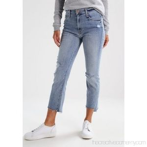 Mother The Insider Crop Step Fray Chatterbox Jeans